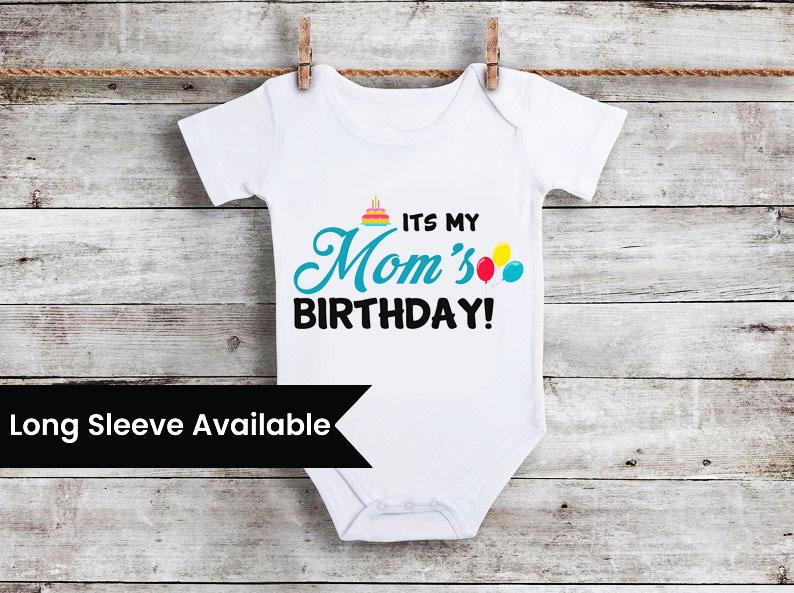 Birthday Newborn Baby Romper Printing